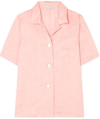 Mila Louise REJINA PYO Jacquard Shirt - Pastel pink