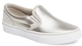 Girl's Vans Classic Slip-On $34.95 thestylecure.com