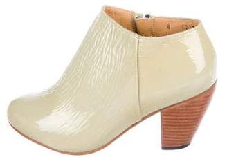 Dieppa Restrepo Patent Leather Ankle Boots