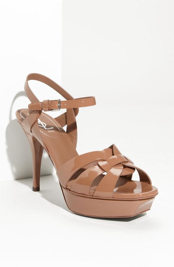 Yves Saint Laurent 'Tribute' Platform Sandal