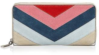 Rebecca Minkoff Leather Continental Zip Wallet