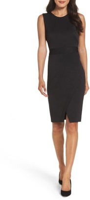 Women's Maggy London Scissor Sheath Dress $138 thestylecure.com