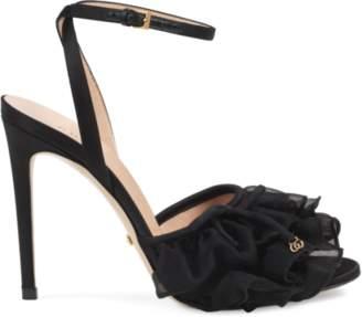 Gucci High heel tulle sandal