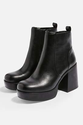 Topshop MONSTER Ankle Platform Boots