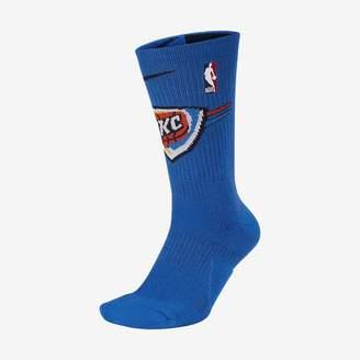 Nike Oklahoma City Thunder Elite NBA Crew Socks