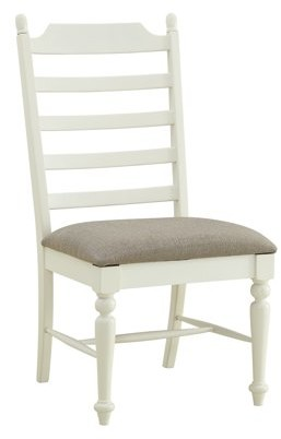 Powell Slater Side Chair, Set of 2, Whitewash