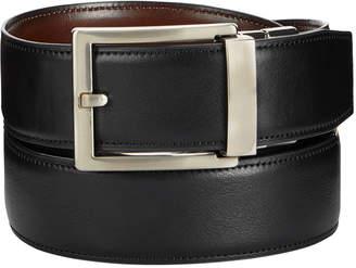 Alfani Men's Reversible Faux-Leather Compression Belt