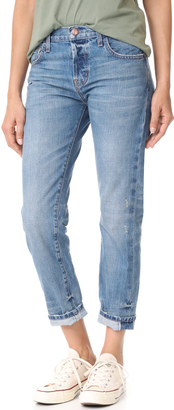 Current/Elliott Taper Jeans $258 thestylecure.com