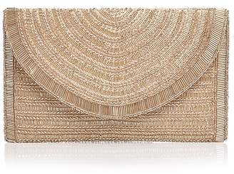 From St Xavier Bailey Beaded Clutch