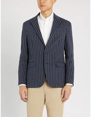Polo Ralph Lauren Pinstripe stretch-cotton blazer