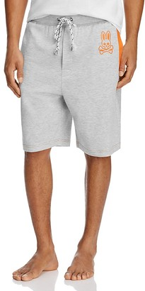 Psycho Bunny Heathered Drawstring Lounge Shorts $36 thestylecure.com