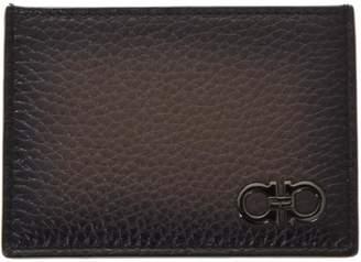 Salvatore Ferragamo Firenze Sepia Leather Wallet