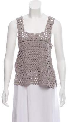 Robert Rodriguez Sleeveless Knit Top