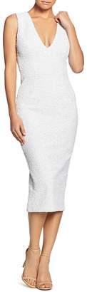 Dress the Population Rani Open-Back Sequined Midi Dress