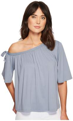 Susana Monaco Kerena Off Shoulder Gathered Top Women's Clothing