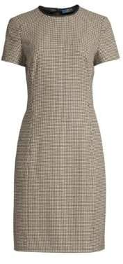 Polo Ralph Lauren Check Sheath Dress
