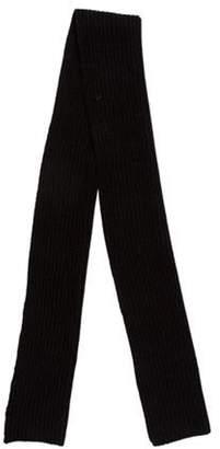 John Varvatos Cashmere Knit Scarf black Cashmere Knit Scarf
