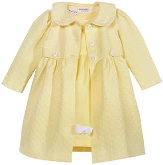 f68f24eeff5d Blueberi Boulevard 2-Pc. Coat & Dress Set, Little Girls (2-