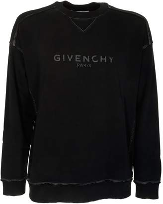 Givenchy Blurred Logo Sweatshirt
