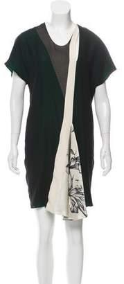 Bouchra Jarrar Asymmetrical Shift Dress