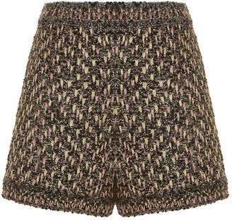 M Missoni Metallic Boucle Tweed Shorts