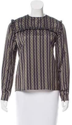 Roseanna Striped Long Sleeve Top
