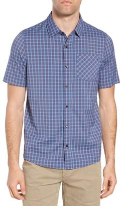 Travis Mathew Smoke Bomb Regular Fit Short Sleeve Sport Shirt