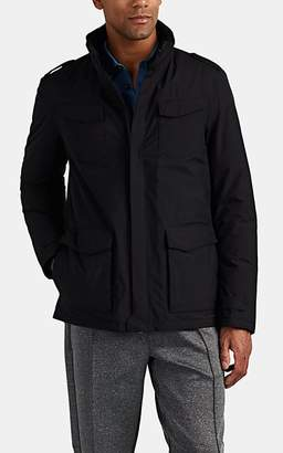 Herno Men's Down-Quilted Field Jacket - Black
