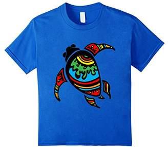 Kids Hawaiian shirts: Aloha sea turtle t shirts