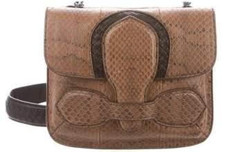 Bottega Veneta Snakeskin Crossbody Bag w/ Tags