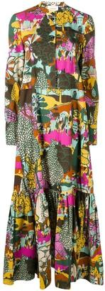 La DoubleJ Maxi Shirt dress