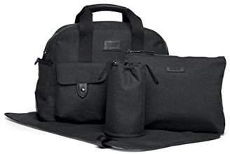 Mamas and Papas Bowling Changing Bag, Anthracite, Pram/Pushchair/Buggy Accessories, Baby Changing Bag, Nappy Changing Bag