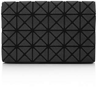 Issey Miyake Bao Bao Oyster Fold-Over Wallet $155 thestylecure.com