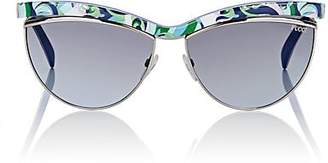 Pucci WOMEN'S EP0010 SUNGLASSES - TURQUOISE