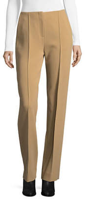 Diane von Furstenberg Straight-Fit Pleated Trousers