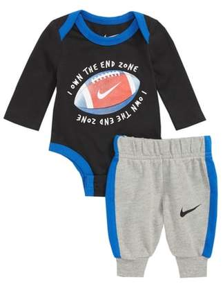 Nike I Own the Endzone Bodysuit & Sweatpants Set