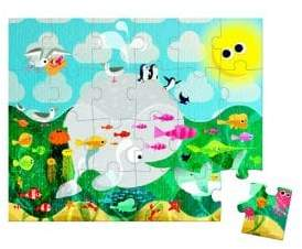 Janod Ocean-Themed Puzzle