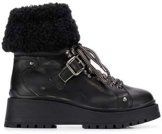 Miu Miu cargo ankle boots