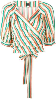 Pinko Rosanna striped shirt