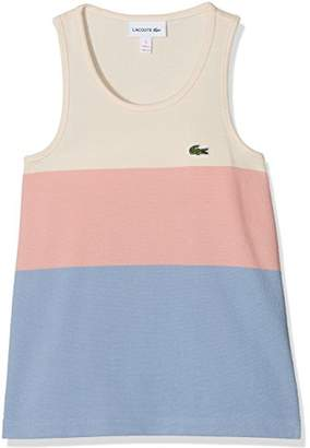 Lacoste Girl's TJ2923 Tank Top,(Manufacturer Size: 5A)