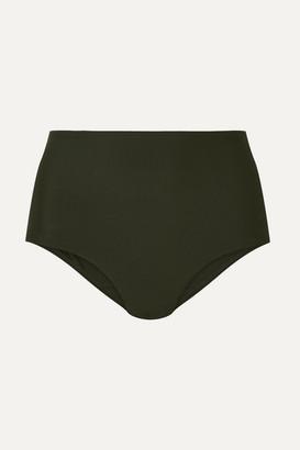 Matteau - The High Waist Bikini Briefs - Emerald