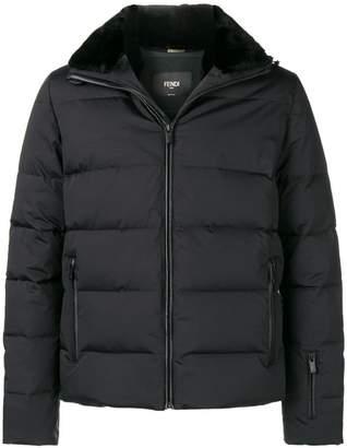 Fendi Karl motif padded jacket
