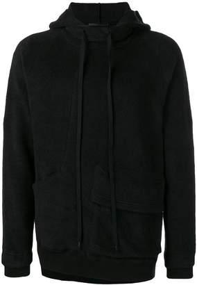 The Viridi-anne reverse fleece hoodie