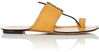 Saint Laurent Women's Saba Leather Thong Sandals