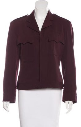 Jean Paul Gaultier Fitted Wool Coat $175 thestylecure.com