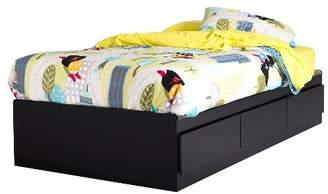 """South Shore 39"""" Fusion Twin Mates Bed with 3 Drawers"""