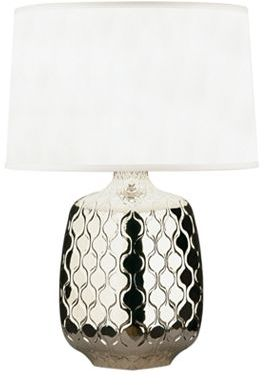 Jonathan Adler Carlyle Bjorn Polished Nickel Table Lamp