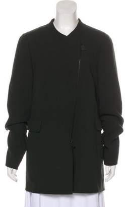 Akris Short Wool Coat