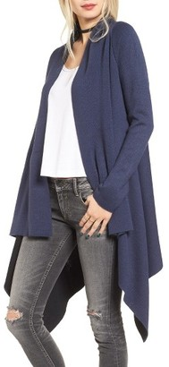 Women's Love By Design Two-Tone Open Front Cardigan $55 thestylecure.com