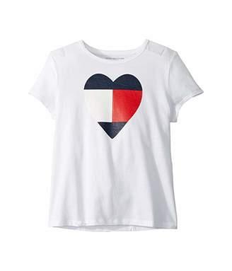 Tommy Hilfiger Adaptive Tommy Heart T-Shirt (Little Kids/Big Kids)